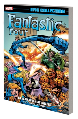 Picture of FANTASTIC FOUR EPIC COLLECTION TP AT WAR WITH ATLANTIS