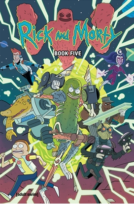 Picture of RICK AND MORTY HC BOOK 5 DELUXE EDITION