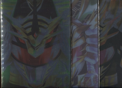 Picture of POWER RANGERS DRAKKON NEW DAWN #1-3 FOIL COVER SET