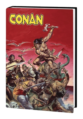 Picture of MARVEL ART OF SAVAGE SWORD OF CONAN HC (MR)