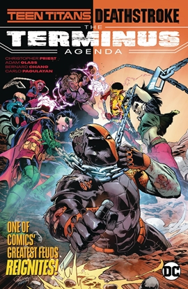 Picture of TEEN TITANS DEATHSTROKE THE TERMINUS AGENDA TP