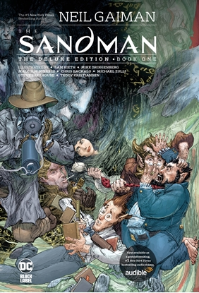 Picture of SANDMAN THE DELUXE EDITION BOOK ONE HC