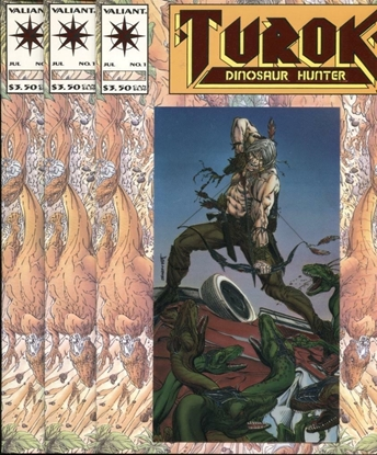 Picture of TUROK (1993) #1 9.4 NM (3 COPIES)