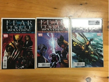 Picture of FEAR ITSELF WOLVERINE #1 2 3 LIMITED SERIES  VF/NM