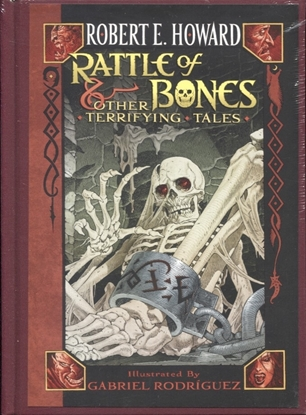 Picture of ROBERT E HOWARD RATTLE OF BONES HC