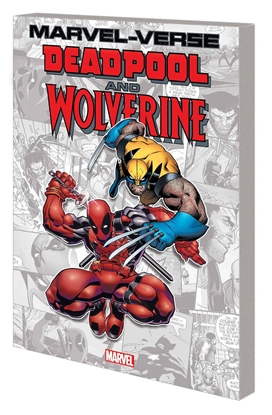 Picture of MARVEL-VERSE DEADPOOL AND WOLVERINE GN TP