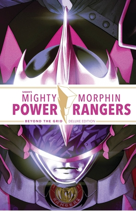 Picture of MIGHTY MORPHIN POWER RANGERS BEYOND THE GRID DELUXE ED HC