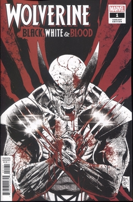 Picture of WOLVERINE BLACK WHITE BLOOD #1 (OF 4) DANIEL VARIANT COVER