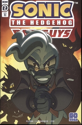 Picture of SONIC THE HEDGEHOG BAD GUYS #2 1:10 INCENTIVE COVER