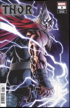 Picture of THOR #9 MCGUINNESS VARIANT COVER
