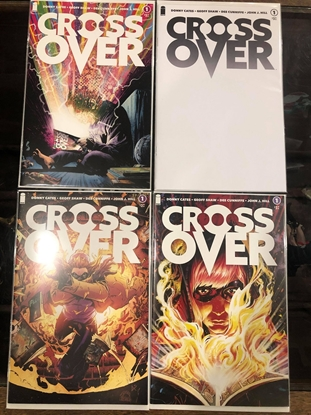 Picture of CROSSOVER #1 BY DONNY CATES COVER A B C BLANK