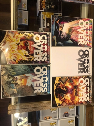 Picture of CROSSOVER #1 BY DONNY CATES COVER A B C D BLANK