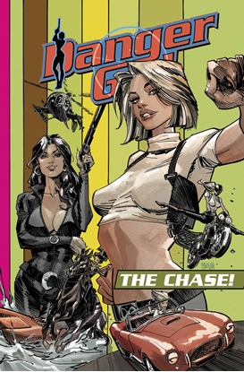 Picture of DANGER GIRL THE CHASE TP
