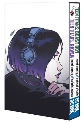 Picture of TEEN TITANS RAVEN AND BEAST BOY HC BOX SET