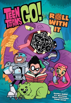Picture of TEEN TITANS GO ROLL WITH IT TP