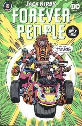 Picture of FOREVER PEOPLE BY JACK KIRBY TP