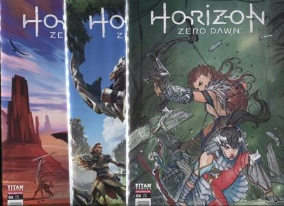 Picture of HORIZON ZERO DAWN #4 COVER A B C SET