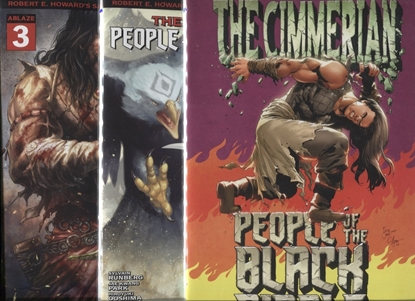 Picture of CIMMERIAN PEOPLE OF BLACK CIRCLE #3 COVER A B + 1:10 INCENTIVE