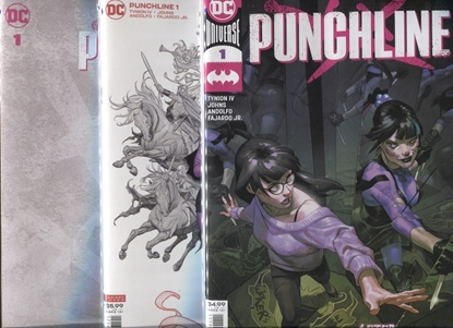 Picture of PUNCHLINE SPECIAL #1 (ONE SHOT) COVER A B + BLANK SET