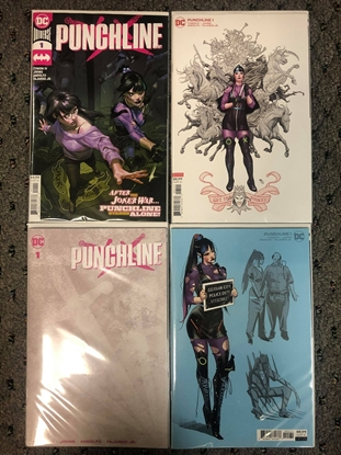 Picture of PUNCHLINE SPECIAL #1 (ONE SHOT) COVER A B + BLANK + 1:25 VARIANT
