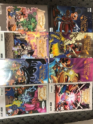 Picture of WALT DISNEY'S WIZARDS OF MICKEY #1-8 SET