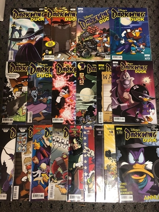 Picture of DARKWING DUCK #1-18 + ANNUAL #1 BOOM STUDIOS