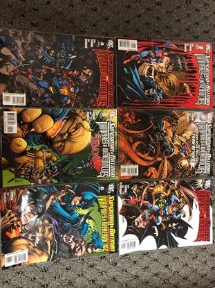 Picture of SUPERMAN & BATMAN VAMPIRES & WEREWOLVES #1-6 SET