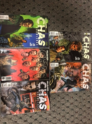 Picture of HELLBLAZER PRESENTS CHAS #1-5 SET