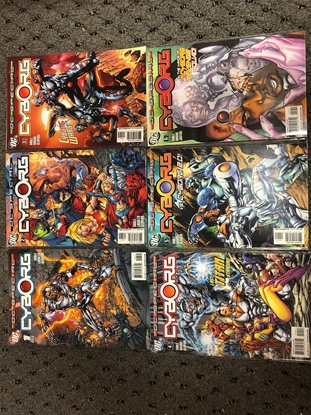 Picture of DC SPECIAL CYBORG #1-6 SET
