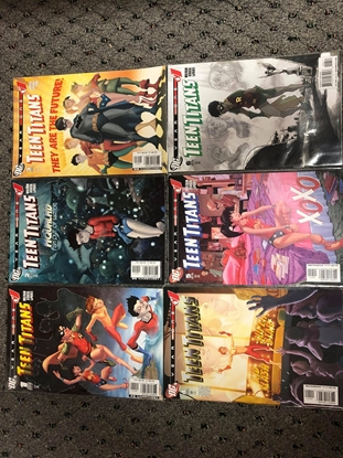 Picture of TEEN TITANS YEAR ONE #1-6 SET