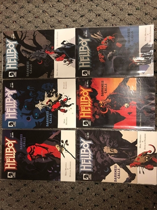 Picture of HELLBOY DARKNESS CALLS #1-6 SET