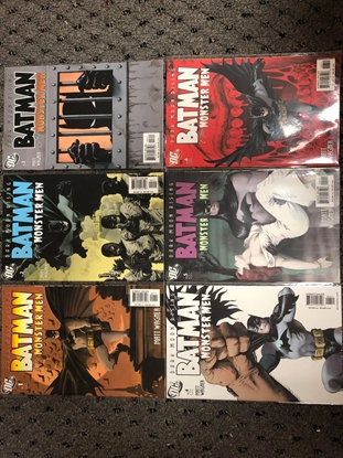 Picture of BATMAN & THE MONSTER MEN #1-6 SET