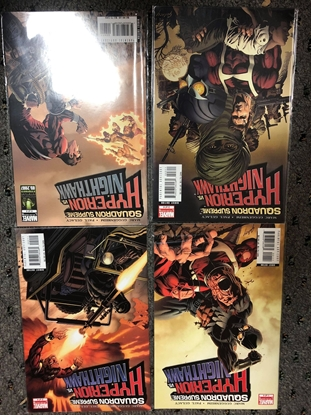 Picture of SQUADRON SUPREME HYPERION VS NIGHTHAWK #1-4 SET