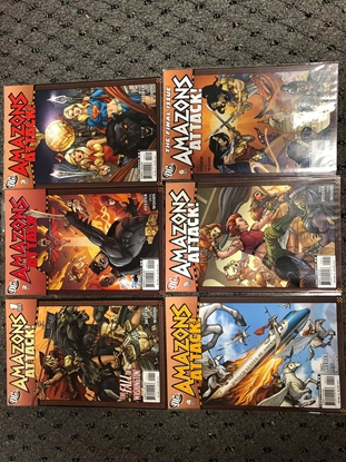 Picture of AMAZONS ATTACK #1-6 SET