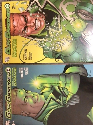 Picture of GUY GARDNER COLLATERAL DAMAGE #1-2 SET NM
