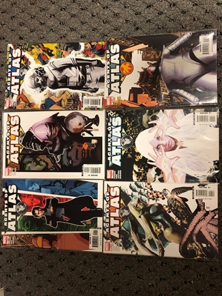 Picture of AGENTS OF ATLAS #1-6 SET