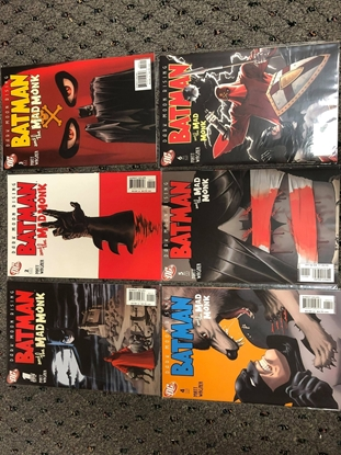 Picture of BATMAN AND THE MAD MONK #1-6 SET