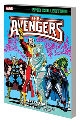 Picture of AVENGERS EPIC COLLECTION TP HEAVY METAL