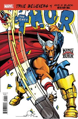 Picture of TRUE BELIEVERS KING IN BLACK BETA RAY BILL #1