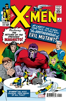 Picture of X-MEN #4 FACSIMILE EDITION