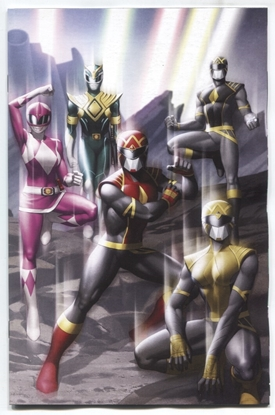 Picture of POWER RANGERS (2020) #1 1 PER STORE WRAPAROUND VARIANT COVER NM
