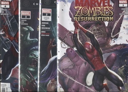 Picture of MARVEL ZOMBIES RESURRECTION #1-4 SET