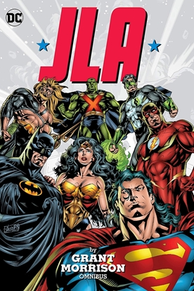 Picture of JLA BY GRANT MORRISON OMNIBUS HC