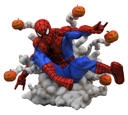Picture of MARVEL GALLERY PUMPKIN BOMB SPIDER-MAN PVC STATUE