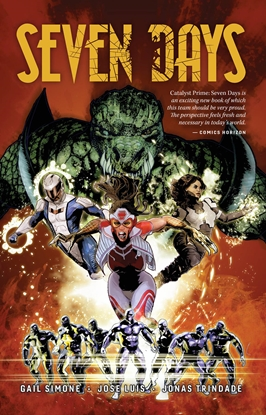 Picture of CATALYST PRIME SEVEN DAYS TP VOL 1