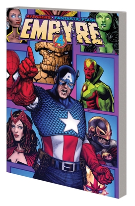 Picture of EMPYRE CAPTAIN AMERICA AND AVENGERS TP