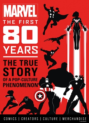 Picture of MARVEL COMICS FIRST 80 YEARS HC