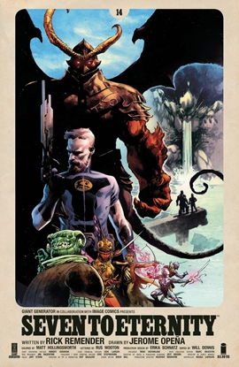 Picture of SEVEN TO ETERNITY #14 CVR A OPENA & HOLLINGSWORTH