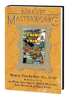 Picture of MARVEL MASTERWORKS MARVEL TWO IN ONE HC VOL 5 DM VARIANT EDITION 296