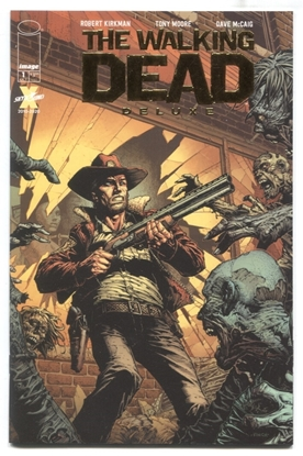 Picture of WALKING DEAD DLX #1 GOLD FOIL (1 PER STORE) VARIANT NM